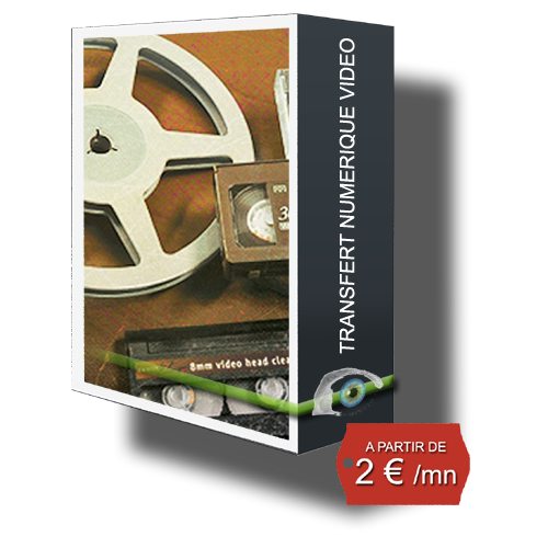 TRANSFERT VIDEO SUR DVD